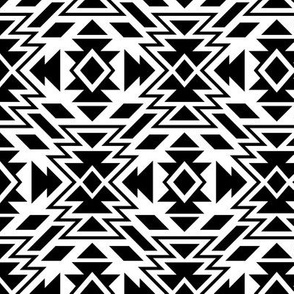 SouthWestern small Tribal B+W