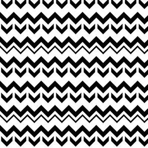 SouthWestern Zigzags B+W2