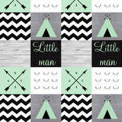 Little man mint tipi with