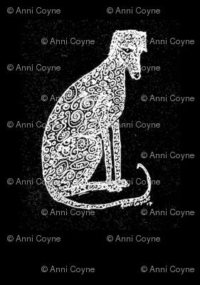 Curlyhound_WhiteOnBlack