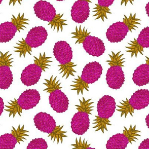 Pink and Gold Party Pineapple