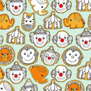 circus cookies small