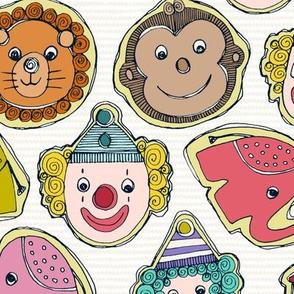 circus cookies multi
