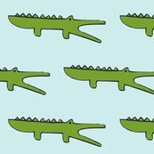 gators on baby boy blue