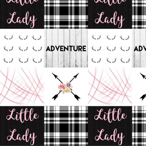 Pink little lady boho arrow adventure