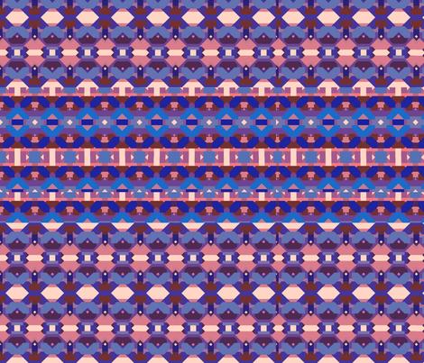 Tangram indie 2 fabric by fabre on Spoonflower - custom fabric