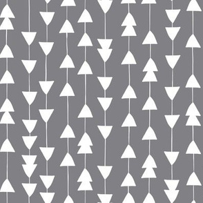 Arrowhead - Geometric Grey