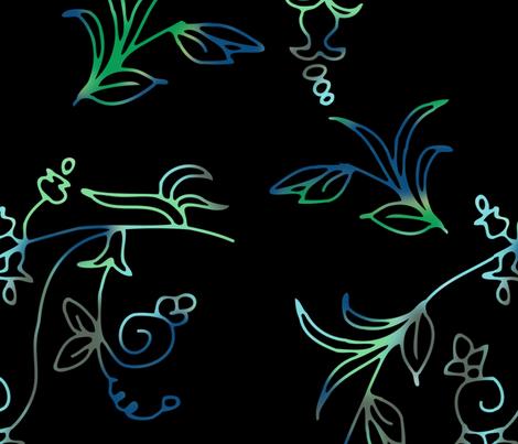 Gardening fabric by della_vita on Spoonflower - custom fabric