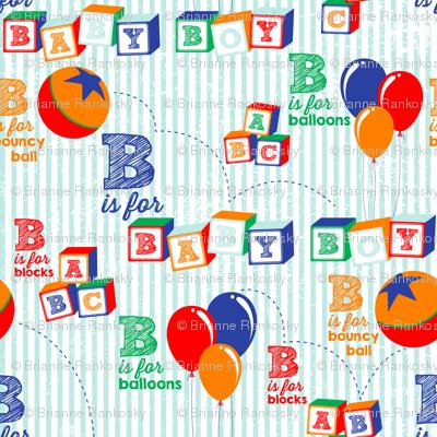 Baby Boy Alphabet
