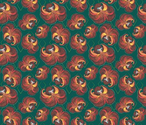 octopi fabric by sburke313 on Spoonflower - custom fabric
