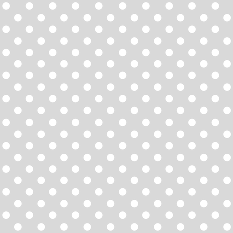 Spots on Grey Large fabric by woodmouse&bobbit on Spoonflower - custom fabric