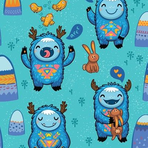Turquoise Forest monsters