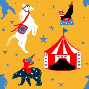 Circus of the Past on a Starry Night