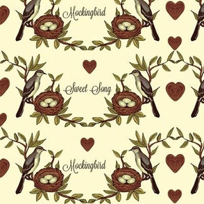 Sweet Song Mockingbird -Vintage