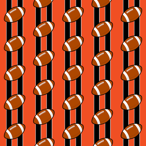 cincinnati bengals fabric by stofftoy on Spoonflower - custom fabric