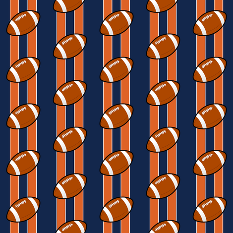 denver broncos   fabric by stofftoy on Spoonflower - custom fabric