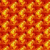 christmas ornament 2 orange
