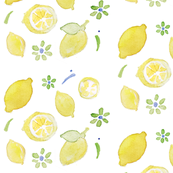 summer yellow lemon