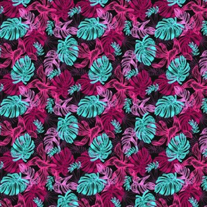 tropical leaves 1 - small