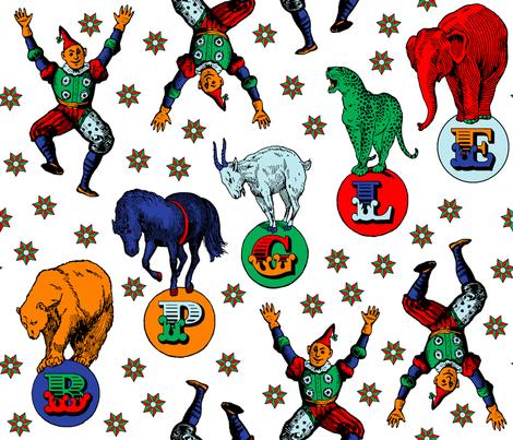 Alphabet Animals fabric by enid_a on Spoonflower - custom fabric