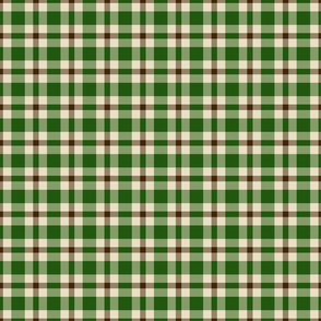 Green Brown Plaid