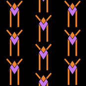 Orange & Purple Amulet