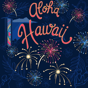 Aloha Hawaii Friday Night Fireworks