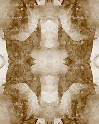 Organic Geometry Pattern_5b_brown