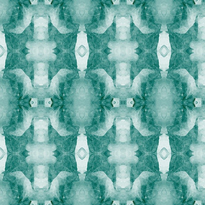 Organic Geometry Pattern_5b_teal_blue