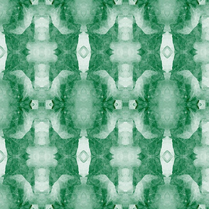 Organic Geometry Pattern_5b_teal_green