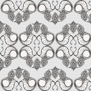 Line_Drawing_Filigree_Motif_1_Brocade_Black_White