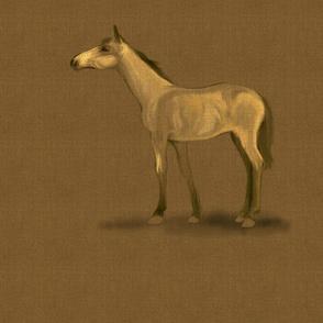 Dun Horse for Pillow