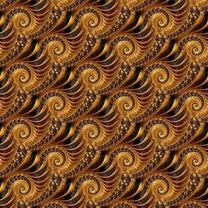 fractal in gold