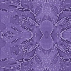 leaf swirl violet