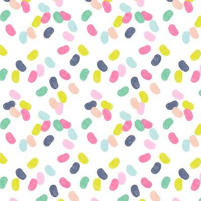 jelly beans - pink/blue/green