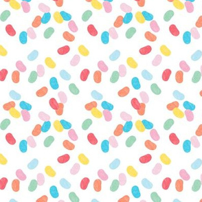 jelly beans - red/blue/yellow