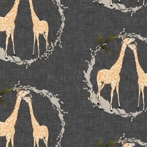 Giraffe_on_brown_linen