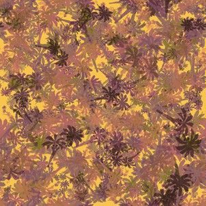 Hawaiian Palm_Trees__Mauve_Pink_Purple_Yellow_Salmon_Black