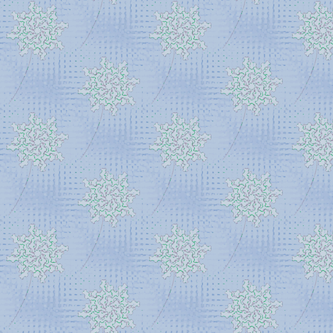 Pinwheel (Cornflower Delicata) fabric by david_kent_collections on Spoonflower - custom fabric
