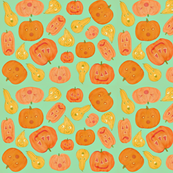 Crazy for pumpkins and gourds
