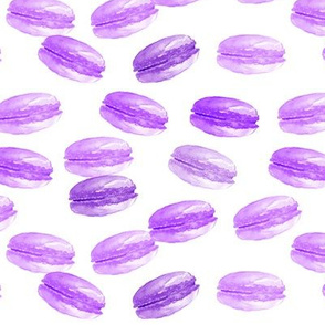 Macaroons toss - purple