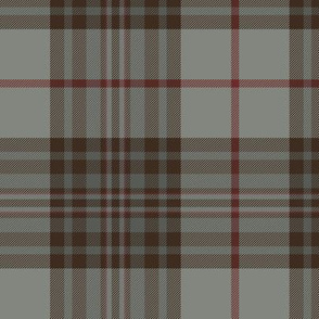 "Southdown tartan - 6"" grey/brown"