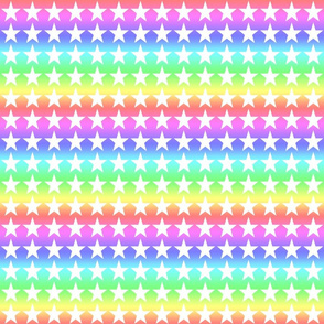 Rainbow Incandescent Stars