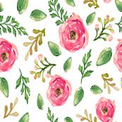 Garden Pink Blooms
