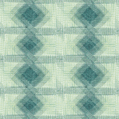 green_eight fabric by snarets on Spoonflower - custom fabric