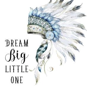 "27""x36"" 2 to 1 Yard of Minky / Dream Big Little One"