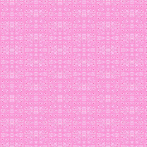 <3 You -Mottled pink grid  fabric by franbail on Spoonflower - custom fabric