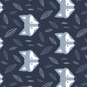 Tea Towel - Blue Fox at Forest