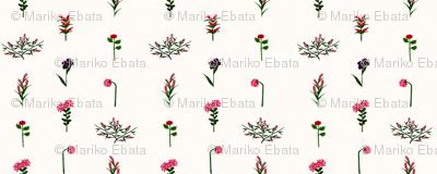 garden party bouquet - wallpaper -