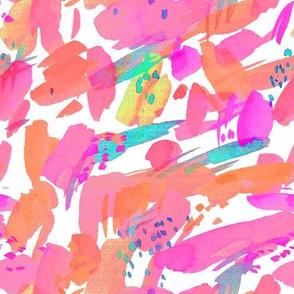 """8"""" Pink and Aqua Mod"""